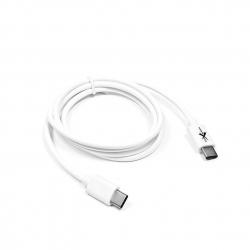 kabel USB-C - USB-C eXtreme 1,0m biały
