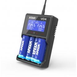 ładowarka do akumulatorów 18650 XTAR VC4