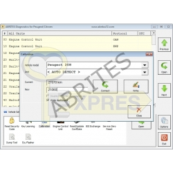 PN017 - BSI, Instrument Cluster Data Manager