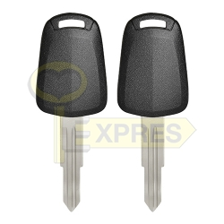 Chipless key shell - DWO4R