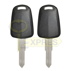 Chipless key shell - HU46
