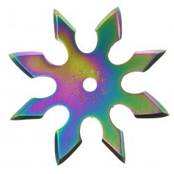 Gwiazdka 8-ramienna - RAINBOW