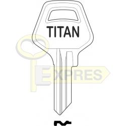 Titan Key for padlock 25mm