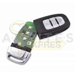 TA48 - ABRITES keyless key for Audi BCM2 vehicles (868 MHz)
