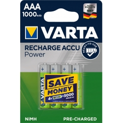 AAA - Akumulatorek VARTA ACCU READY TO USE 1000 mAh NiMH
