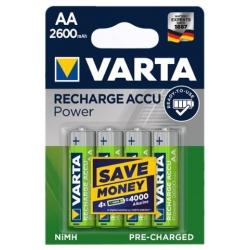 AA - Akumulatorek VARTA ACCU READY TO USE 2600 mAh NiMH