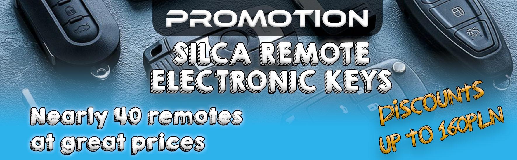 Silca remotes