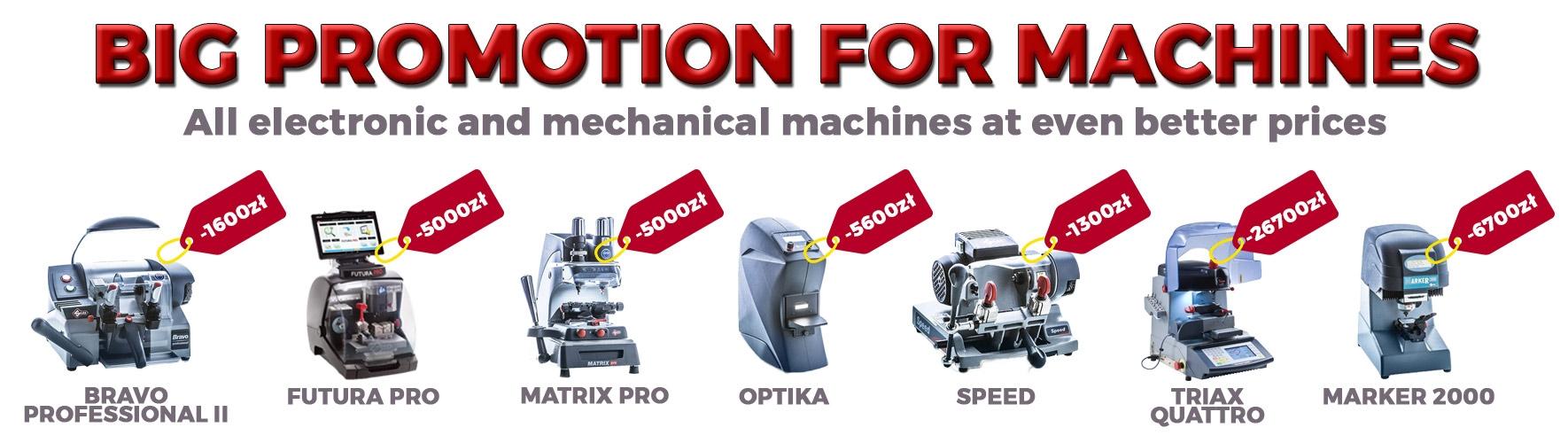 Machines Sale